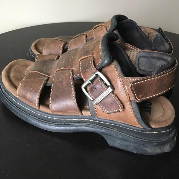 35fc4c8e2 Caterpillar Shoes   Cat Mens Leather Sandal   Poshmark
